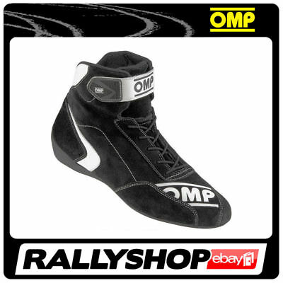 FIA Approved OMP First S Shoes, size 41 FREE DELIVERY WORLD! Black