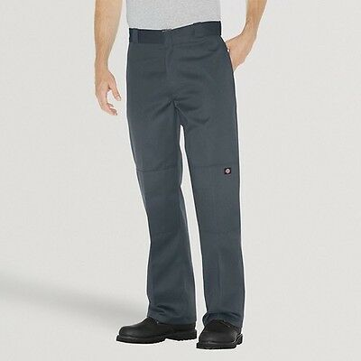 Dickies® Men's Big & Tall Loose Straight Fit Twill Double Knee Work Pants wit...