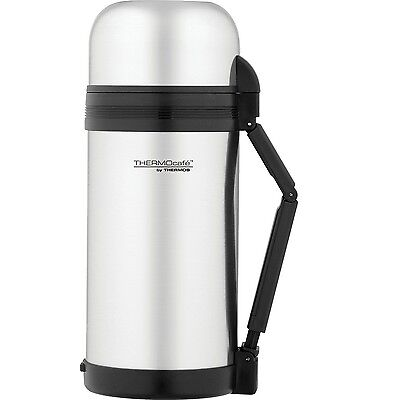 Thermos Insulated Stainless Steel Food & Drink Flask 1.2L 100% Genuine!