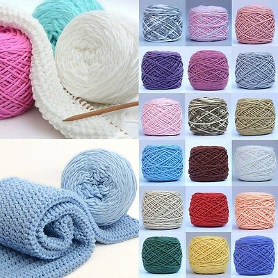 200g Smooth Cotton Soft Double Knitting Wool Yarn Baby Woolcraft Gift