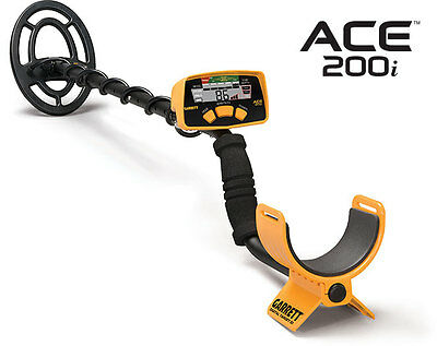 NEW Garrett ACE 200i Metal Detector - Great for all ages