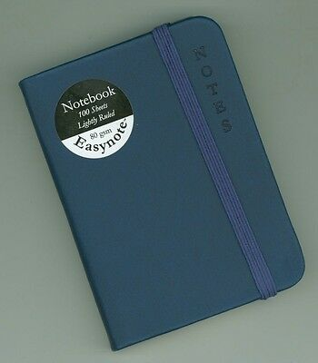 Soft Feel Premium A7 Ruled Pocket Notebook *blue* - High Quality And Luxurious