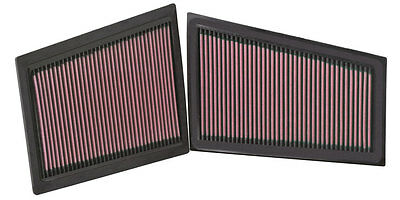 K&N Air Filter Element 33-2940 (Performance Replacement Panel Air Filter)
