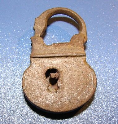 Ancient lock  original *RARE* Non-ferrous metal. ANCIENT.