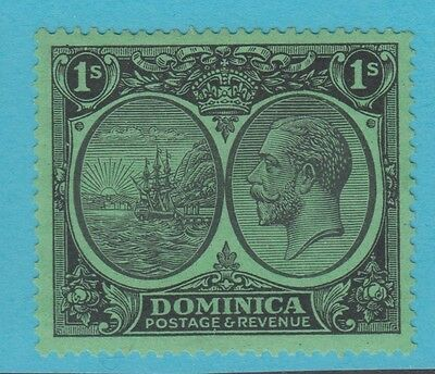 Dominica 77  1923 No Faults  Mint Hinged Og Extra Fine