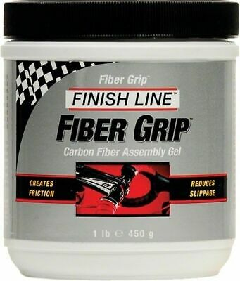 Finish Line Fiber Grip Carbon Fiber Bicycle Assembly Gel 1lb Tub