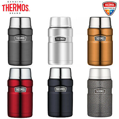 Thermos STAINLESS STEEL Vacuum Insulated Food Jar Container 710ml BPA Free OZ