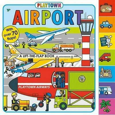 NEW Playtown Airport By Priddy Books Board Book Free Shipping