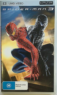 Spiderman 3 Umd Movie Sony Psp Movie - Playstation Portable
