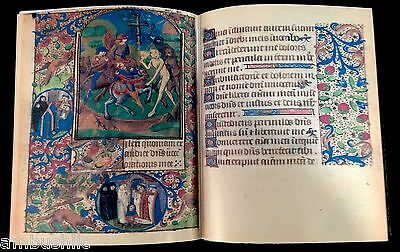 BOOK OF HOURS USE OF ORLÉANS, 1490. Facsimile