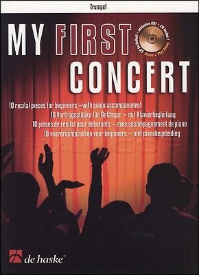 My First Concert For Trumpet Sheet Music Book with CD