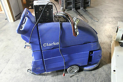 Clarke Encore L Class  Battery Powered Floor Scrubber/cleaner With Charger