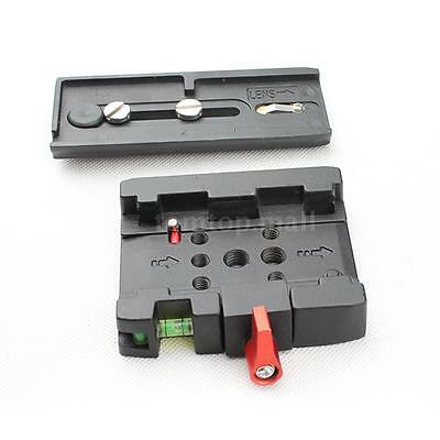 P200 Tripod Quick Release Plate with Clamp Adapter for Manfrotto 577 701 503 Q5