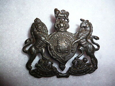 The General Service Corps WW2 Officer's Bronze Cap Badge