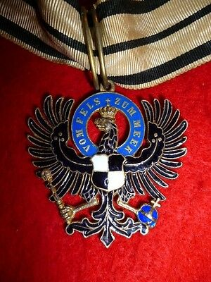 GERMANY - PRUSSIA. Hohenzollern House Order Eagle of a Commander