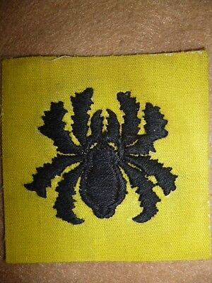 81st West African Division Printed Patch - Burma, Chindits interest