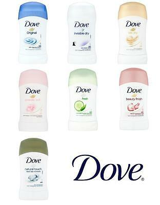 Dove Antiperspirant Deodorant Solid Stick for Women 8 Different Scent  FREE SHIP