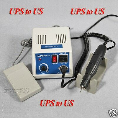 Dental Marathon Lab Electric Micromotor Polishing Motor 35KRPM Handpiece Control
