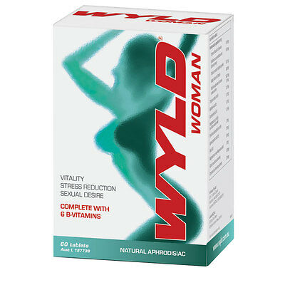 Wyld Woman 60 Tablets Improves Libido
