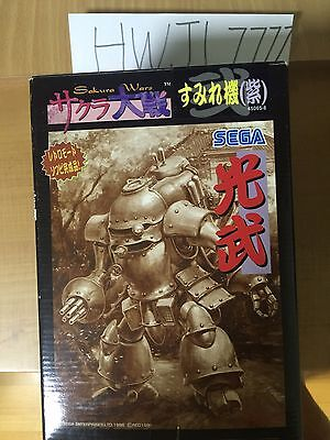 Sakura Wars Robot Warrior Figure Plastic Purple Color