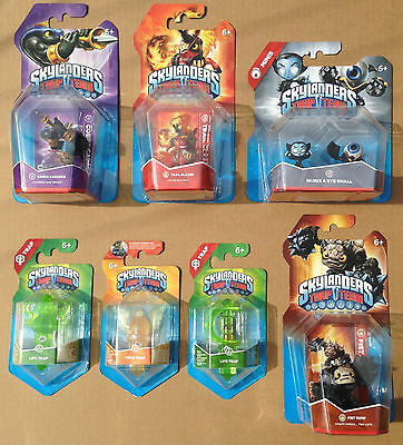 Skylanders Trap Team Bundle 4. 5 Figures & 3 Traps  *brand New & Factory Sealed*
