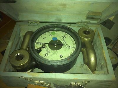 Dynamometer 0-5T 10 Ton 50Kn 12,250 lbf New Boxed Great quality analog Dillon