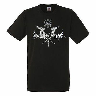 Deathspell Omega Black New T-Shirt Fruit of the Loom ALL SIZES