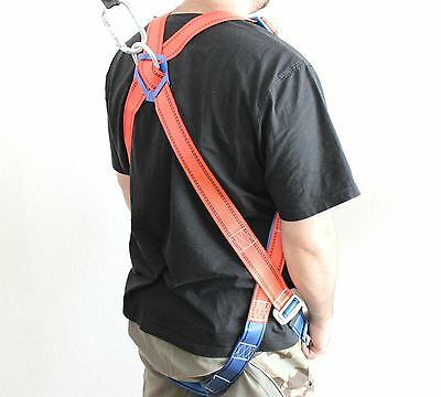 362119 Full Body Safety Fall Climbing Harness Set With Absorber