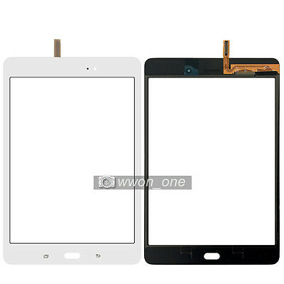 White Samsung Galaxy Tab A 8.0 SM-T350 Touch Screen Digitizer Glass Panel Lens