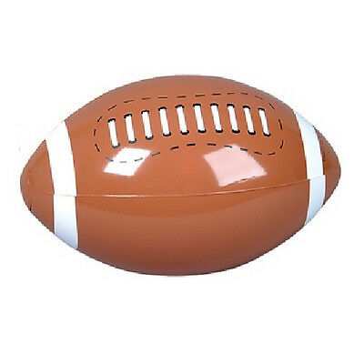 13 Inch Inflatable Blow Up Novelty American Football Rugby Beach Ball New!
