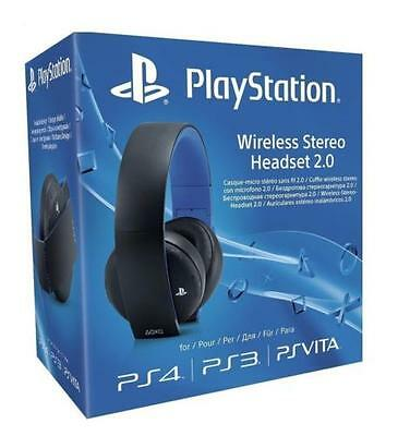 CUFFIE sony PS4 Wireless Stereo Headset2.0 Black