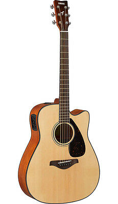 Yamaha FGX800C Acoustic Electric Guitar (Natural)