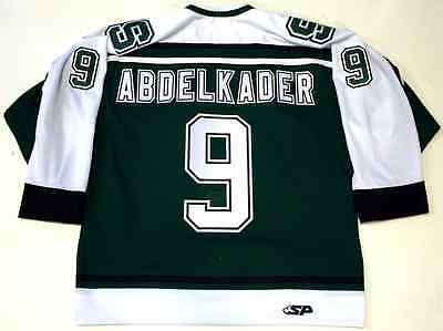 Justin Abdelkader Michigan State Spartans Green Authentic Jersey Red Wings