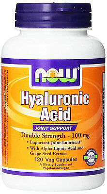 NOW Hyaluronic Acid 100 mg 120 Vcaps