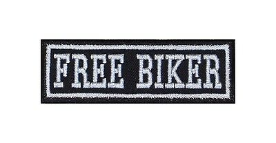 Free Biker Patches Aufnäher Rocker Bügelbild Kutte Motorrad MC Badge Heavy Emble