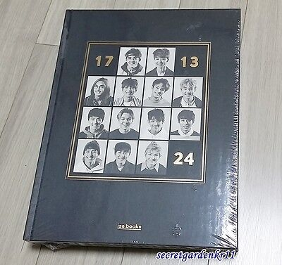 SEVENTEEN [17 13 24 ] First Photobook 260p+Postcard Book+Gift Photo,New,Sealed