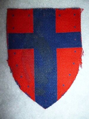 British Forces in France Printed Patch, British WW2