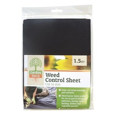 Anti Weed Control Sheet Garden Blanket Ground Cover 1.5 square meter