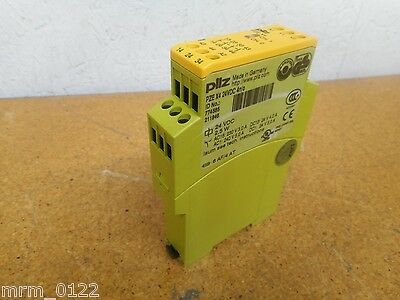 Pilz PZE-X4 24VDC 774585 Safety Relay Gently Used