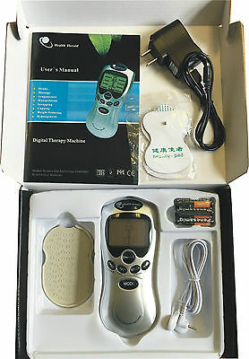 Tens Digital Therapy Machine Full Body Back Pain Relief Massager 8 mode Gift Box