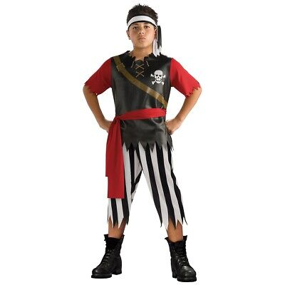 Pirate King Buccaneer Costume Halloween Fancy Dress