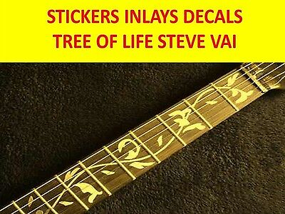 Stickers Inlays Tree Of Life Gold Fret Markers Visit My Store Custom Guitars