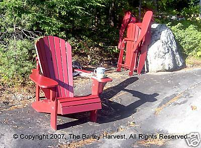 Folding Muskoka Chair Plans - FULL SIZE PATTERNS