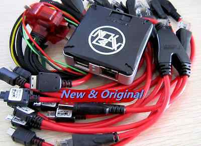 MICRO BOX REPAIR flash for Samsung LG HTC Blackberry + 39 cables