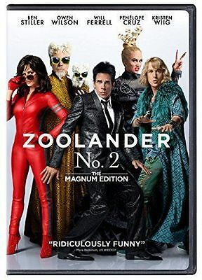 Zoolander 2 DVD, 2016 - USA SELLER - BRAND NEW