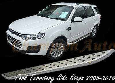 Ford Territory Side Steps Running Boards Aluminum Silver 2004-2016(CMP31)
