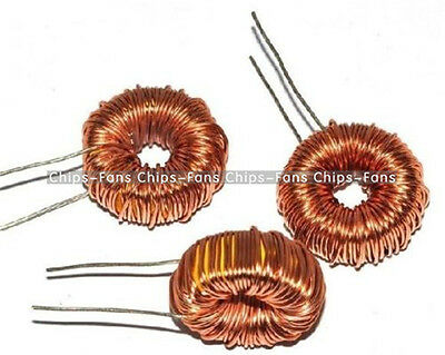 10Pcs DIY mah--100uH 6A Coil Toroid Core Inductors Wire Wind Wound CF