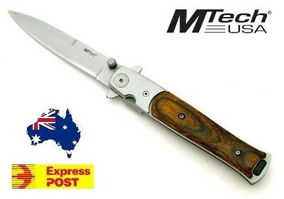 ** M-TECH ** STILETTO STYLE POCKET FOLDING KNIFE mtech - EXPRESS POST!