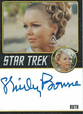 Star Trek TOS 50th Anniversary (2016) Shirley Bonne autograph