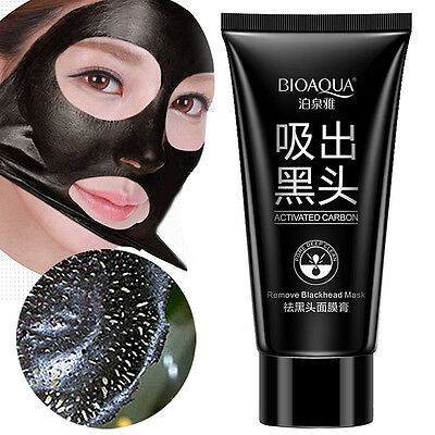 Face Skin Care Suction Nose Blackhead Remover Peeling Black Head Mud Facial Mask